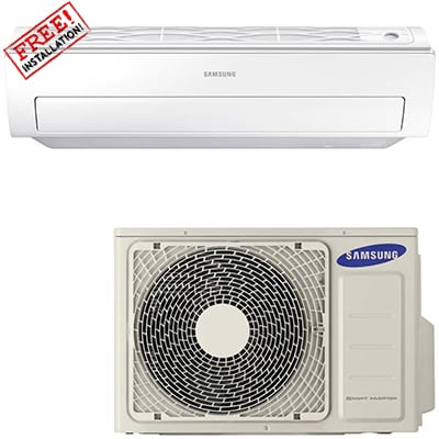 SAMSUNG Air Conditioner 18000BTU HEAT-COOL-inverter
