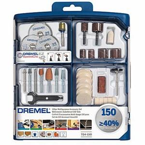 DREMEL 150 Pieces Multipurpose Accessory Set - IBUY.mu