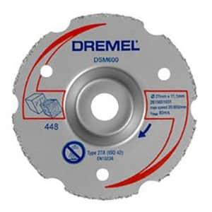 DREMEL DSM600 Multipurpose Carbide Flush Cutting Wheel - IBUY.mu