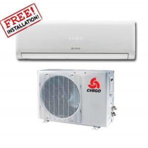 Chigo Air Conditioner 12000btu heating-cooling