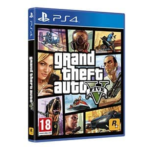 PS4 Game Grand Theft Auto V