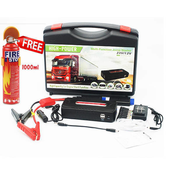 IBUY.mu | Multi Function Jump Starter 12V & 24V, CAR ACCESSORIES, BATTERY JUMPER, BUY IN MAURITIUS, ONLINE SHOPPING MAURITIUS